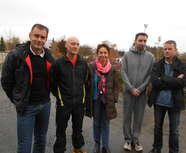 5 personnes de l'Asec la Pommeraye s'engagent dans la formation de juges