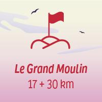 Le défi Grand Moulin, 17+30 km