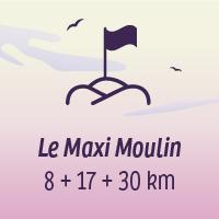 Le défi Maxi Moulin, 8+17+30 km