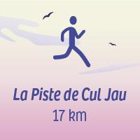 La piste de Cul Jau 17 km, 300 D+