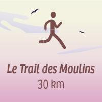 Le Trail des Moulins 30 km, 700 D+